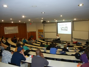 Engaging Chemistry students at Butler University in Indianapolis, Indiana