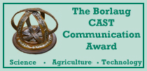 The Borlaug CAST Communications Award